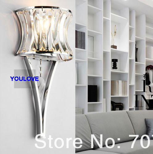 Modern Ice Fire Crystal Wall Lamps Nordic Crystal Wall Lights Fixture Home Indoor Lighting Bed Room Bed Side Parlor Torch Lights bogner fire ice футболка bogner fire ice 8410 1509 031 белый