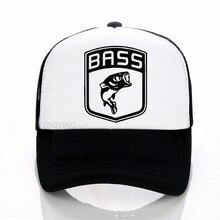 Cotton Cap Snapbacks-Hat Baseball-Caps Bass Fish Summer Sports-Cap Angling Adjustable