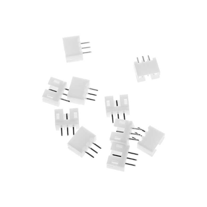10 zestawów silnik bezszczotkowy Mini Micro JST 2.0 PH 3-Pin złącze wtykowe z przewodami kable 300 MM