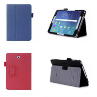 Tab S2 8 inch T710 T715 PU Leather Carry Case Cover Hand Strap & Card Holder Cases For Samsung Galaxy Tab S2 8.0 T715C