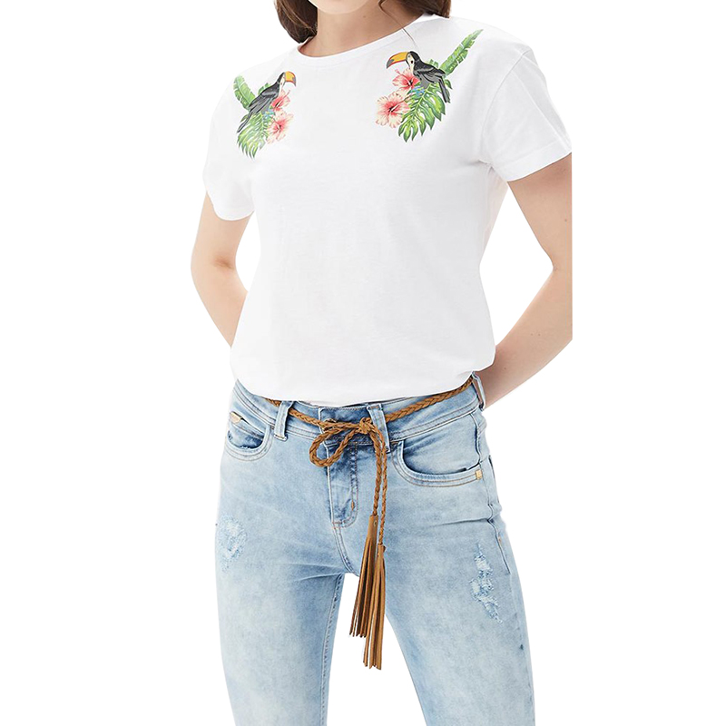 T-Shirts MODIS M181W00702 women shirt cotton for for female TmallFS
