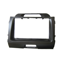 Free shipping-Car refitting DVD frame,DVD panel,Dash Kit,Fascia,Radio Frame,Audio frame for 2010 KIA SPORTAGE,2DIN