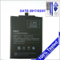 Mi RedMi 3 S X Mobile Phone Battery BM47 Replacement Batteries 4000mAh For Original Xiaomi RedMi