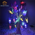 Transparent Clip 20 LED 3AA Battery Card Photo Mini Clip String Lights Christmas Lights Party Wedding Home Decor Fairy Lights