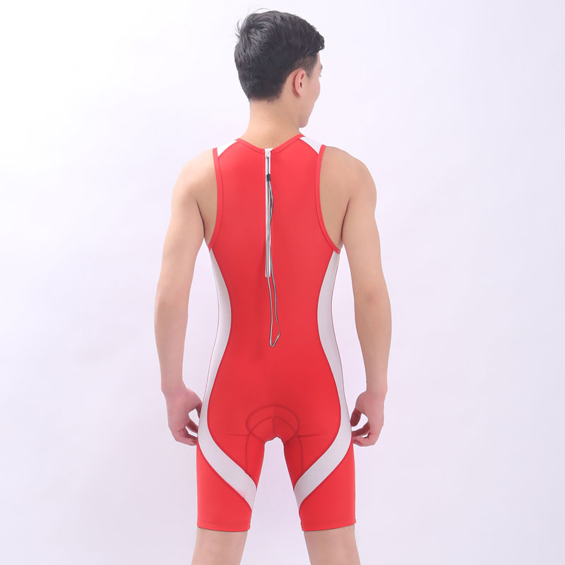 unisex competition lycra knee length swim triathlon suit sharkskin one piece professional racing training swimwear the triathlon training book