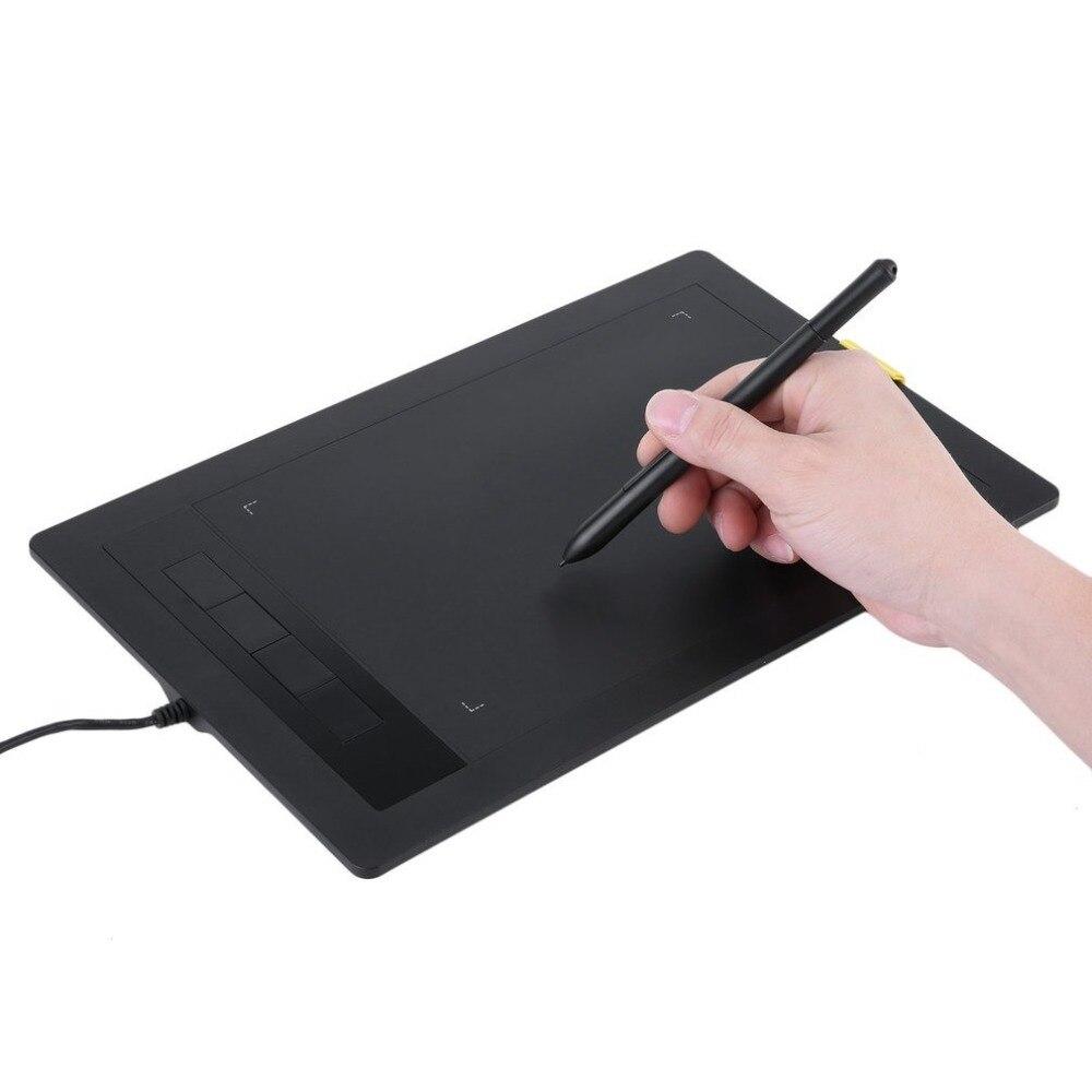 Nouvelle tablette graphique 2048 niveaux tablettes numériques dessin tablette LCD sans fil tableau d'écriture électronique