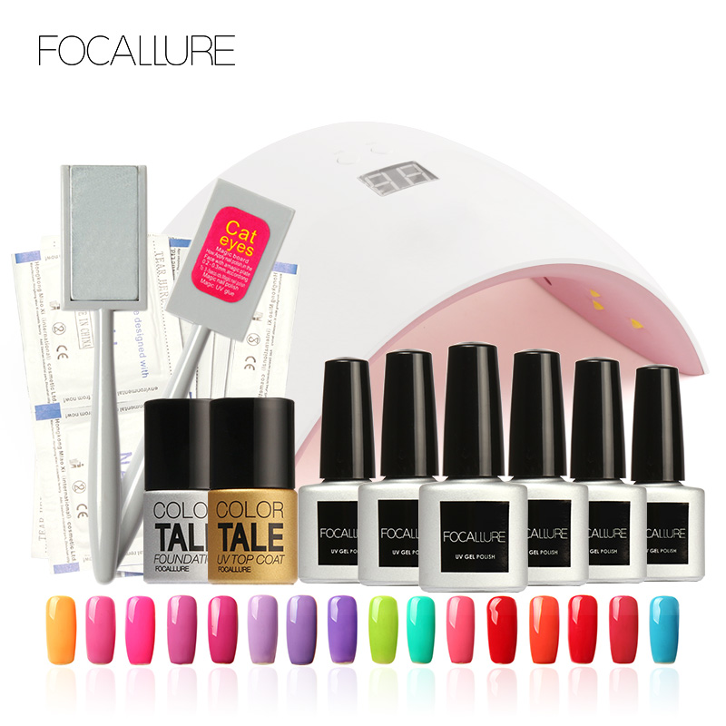15 PCS UV LED SUN9 36W Manicure Tool Nail Gel Lamp UV LED Lamp Nail Dryer Polish Machine for Curing Nail Gel Art Tool Set Kits
