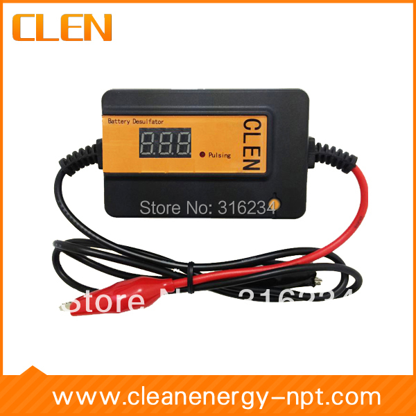 CLEN Auto Pulser Desulfator Lead Acid Battery Desulfation Battery Regenerator Battery reviver