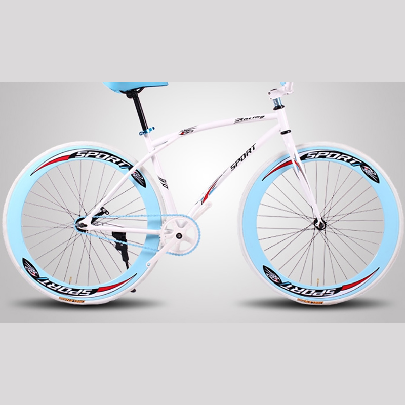 Free Shipping High Quality Carbon Steel Material 21 Speed 26 Inch  Inverted Fluorescence Brake Road Bike
