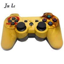 JIELI Camuflagem Cor Sem Fio Bluetooth Controlador Para Sony PlayStation 3 Dualshock Controlador PS3 Vibração Gamepad