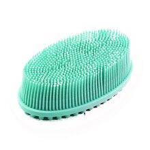 Слоеный шампунь для кожи головы, отшелушивающие пузырьки для детей, мягкий скруббер для душа, Массажная щетка для тела для ванной, домашний силикон