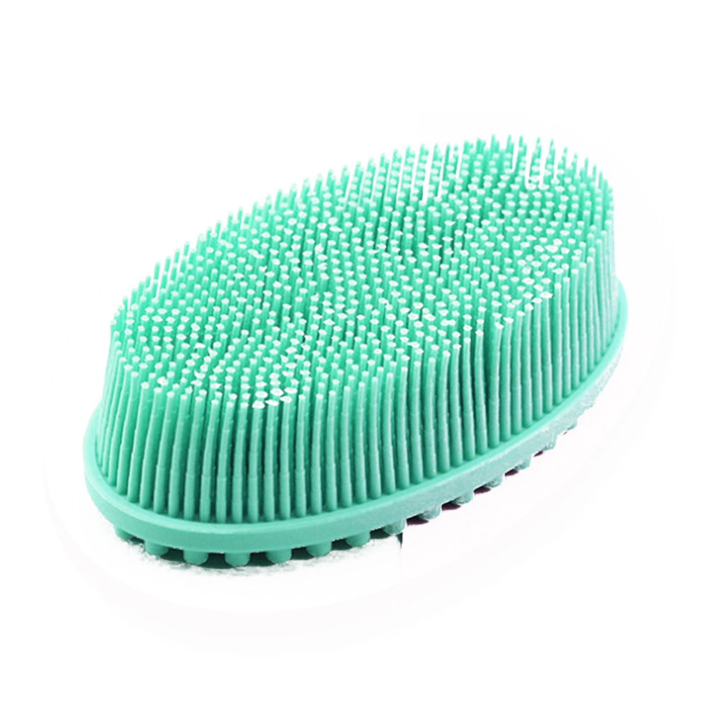 Puff Scalp Shampoo Baby Exfoliating Bubbles Soft Shower Scrubber Bathroom  Massage Body Brush Bath Home Silicone