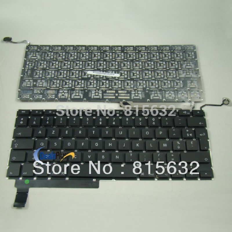 For MacBook Unibody 15 A1286 MB470 MB471 2008 Clavier French fr Keyboard AZERTY new azerty for asus f8p clavier french keyboard