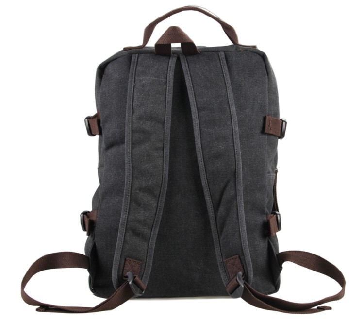 J M D New Style High Quality Canvas Fashion Schoolbag Laptop Backpack Portable Travel Bag 9018A 9018B 9018N in Backpacks from Luggage Bags