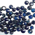 Limited quantity natural sapphire gemstone dark blue round 7mm 1.5 ct sapphire loose stone from China's biggest sapphire mine