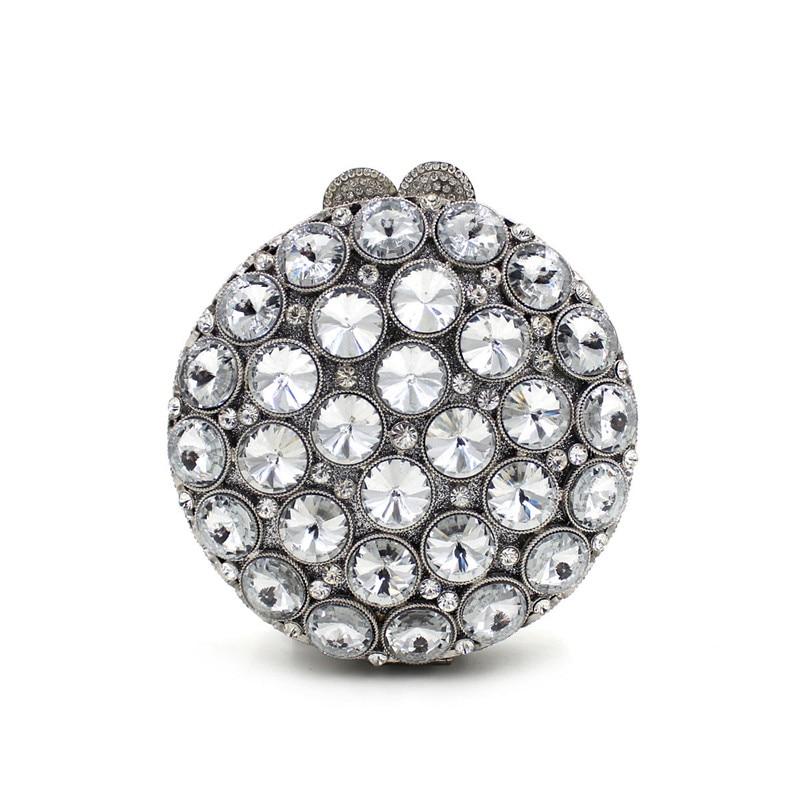 Фотография  Clutch bags Women Luxury crystal Prom handbags Ladies Evening Bag Rhinestones pochette Party Purse Day Clutches