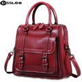 Women shoulder bags genuine leather handbag 2016 Women Shoulder Bags Women's Handbags Cowhide Genuine Leather Bags