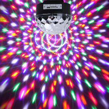 LED Crystal Magic Ball Stage Effect Lighting Remote Control USB Bluetooth MP3 LED Stage Light for Party Disco Club DJ Bar