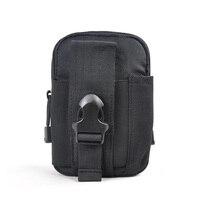 Femmes/Hommes Taille Sacs Ceinture Sac Étanche Pack Oxford tissu Téléphone Pochette Sac Taille Sac Armée Militaire Petit T0088