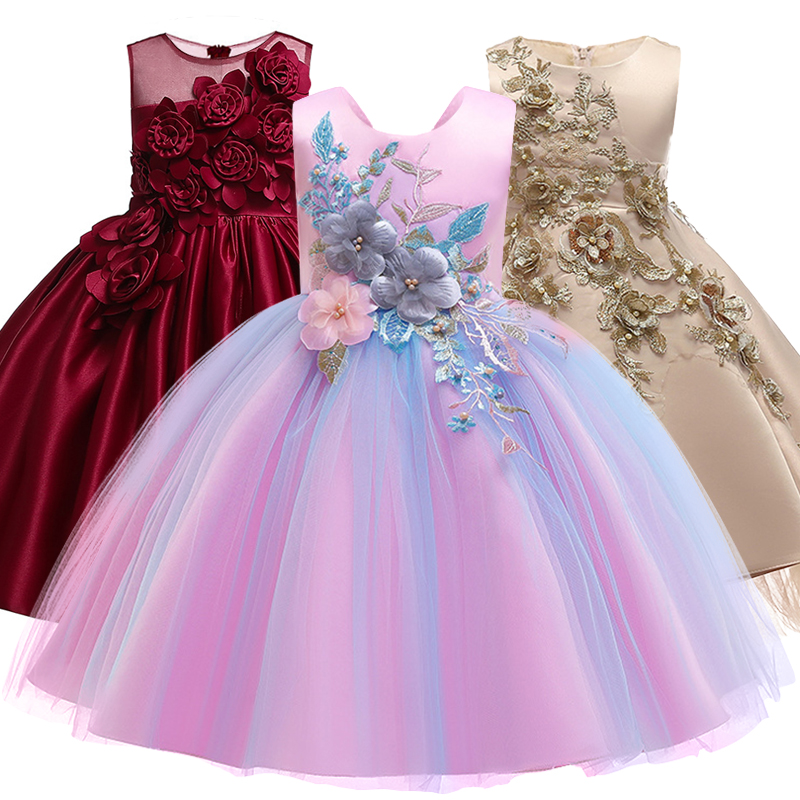 Aliexpress.com : Buy Girls'Ceremony Party Embroidery Dress