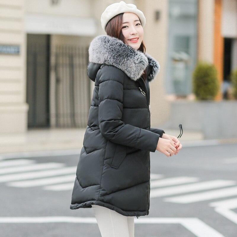 de invierno de corea moda abrigos espesar ropa de abrigo para las mujeres