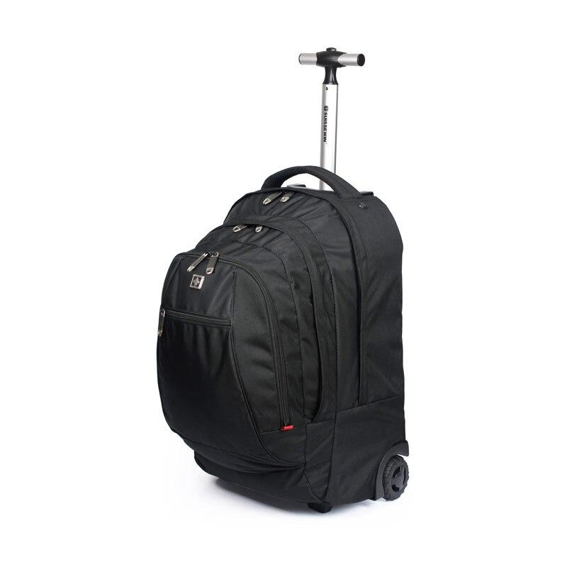 Aliexpress.com : Buy Hot Sale Swiss Gear Wheeled Backpack Black ...