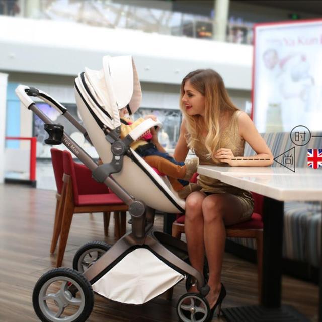 Excelente qualidade de luxo carrinho de bebê, China carrinho de alta paisagem, Berço de sistema, Bebê carrinhos carrinho de bebé