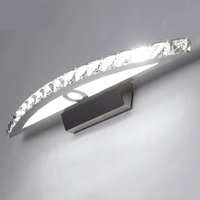 Modern Wan dlamp Led Wall light Stainless Steel Sconce Wall Lamp For Bathroom Mirror Front Light Bathroom Lamp lw48336