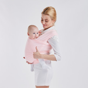 Image 2 - MOTOHOOD Saddle Baby Carrier Organic Cotton Ergonomic Baby Carrier 360 Kids Back Pack Stretchy Ring Baby Wrap Sling Backpack