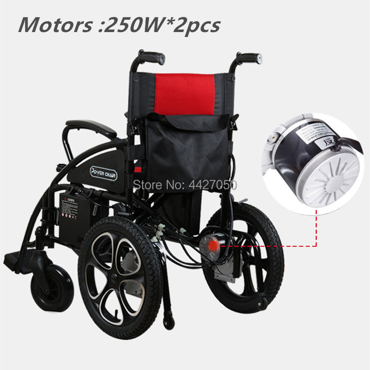 Free shipping to Russia hot sale limited time discount folding electric wheelchair cost-effective scooter