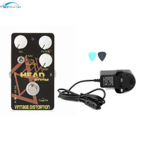 Caline CP 34 Vintage Distortion Guitar Effects Pedals With Ture Bypass AC100V 240V To DC9V 1A