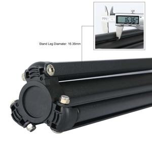 Image 5 - Heavy Duty מתכת 2m אור Stand מקסימום עומס כדי 5KG חצובה עבור תמונה סטודיו Softbox וידאו פלאש רפלקטור תאורת רקע Stand