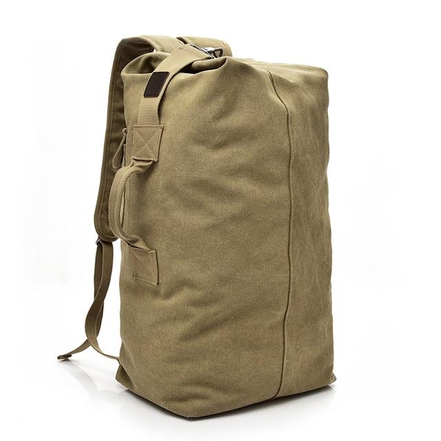 Didabear 2017 большой емкости Человек Дорожная сумка альпинизм рюкзак мужчины сумки холст ведро сумка мужская парусиновая Рюкзаки