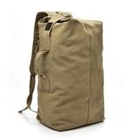 DIDA BEAR 2017 New Men Canvas Backpacks Male Large Bags For Travel Man Backbag Mochila Rucksack