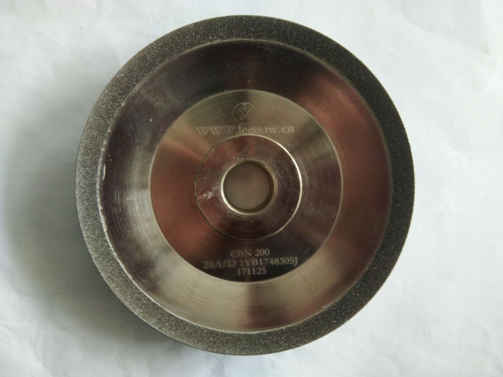 Grinding Wheel (SDC or CBN optional) for Drill Grinder Grinding Machine MR-26A or MR-26D white grinding wheel for surface grinding machine m618 white alundum grinding wheel size 180 12 7 31 75