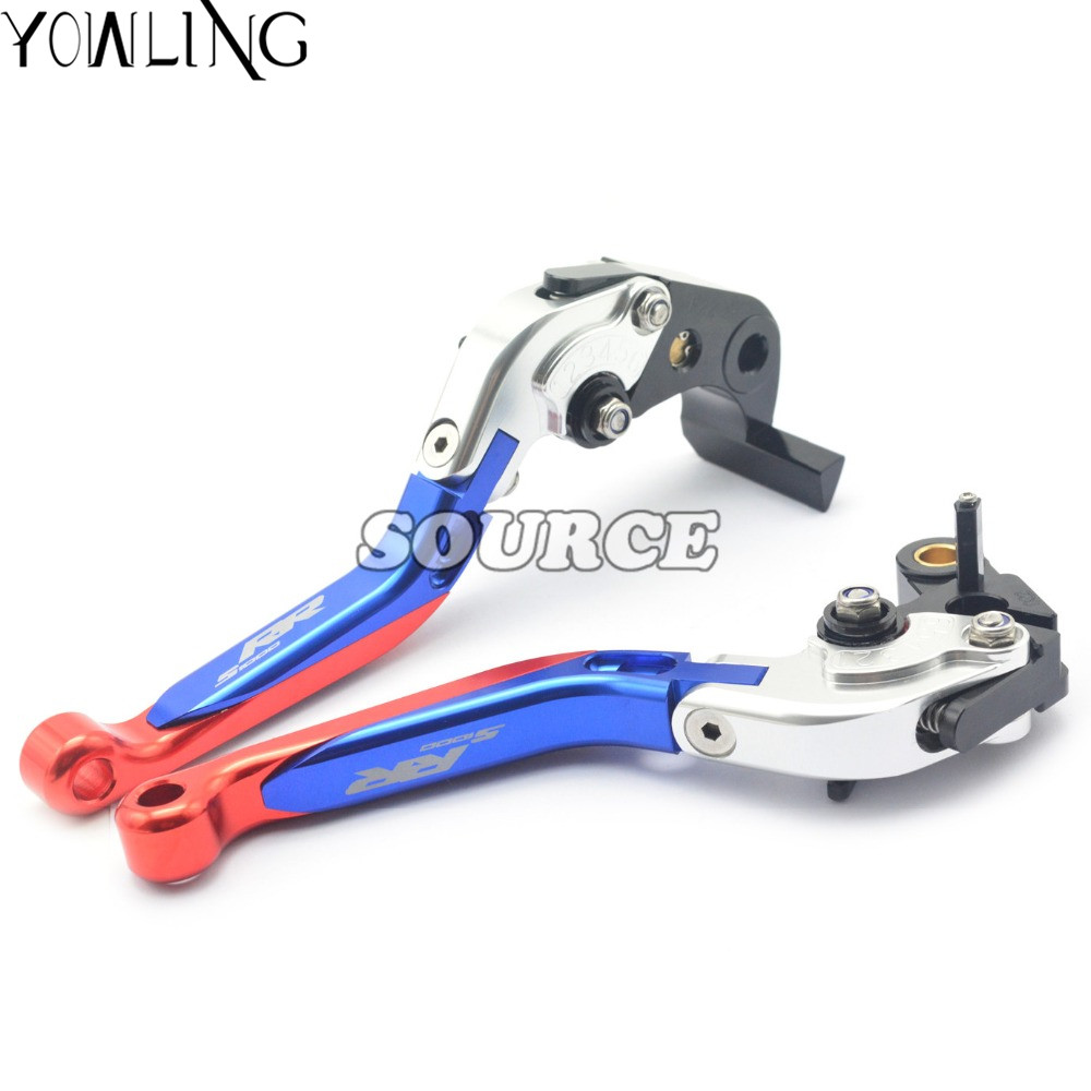 Adjustable Motorcycle Brake Clutch Levers MOTO Brake Clutch Levers For BMW S1000RR S 1000RR S 1000 RR 2010 2011 2012 2013 2014 free shipping for ducati multistrada 1200 s m1100 s evo motorcycle accessories cnc adjustable folding brake clutch levers red