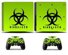 Biohazard 253 PS4 Slim Skin Sticker Vinyl Cover