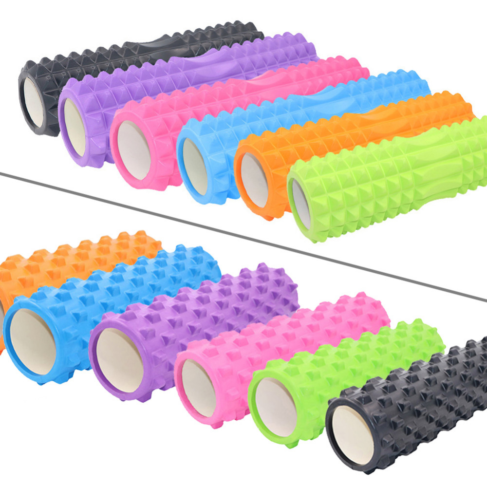 Foam Roller Yoga Column Yoga Block Pilates Fitness Train Gym Massage Grid Trigger Point Therapy Exercise Physio Sport Tool 45*14
