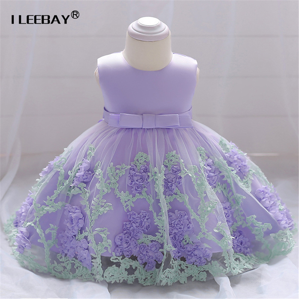 2018 Baby Girl 1st Birthday Party Dress Little Girls Princess Tutu Dress Infant Baptism Lace Gown Newborn Toddler Vestido Bebe baby girls tutu dress newborn baby girl clothes baptism christening gown wedding dresses flower vestido bebe vestido de batizado