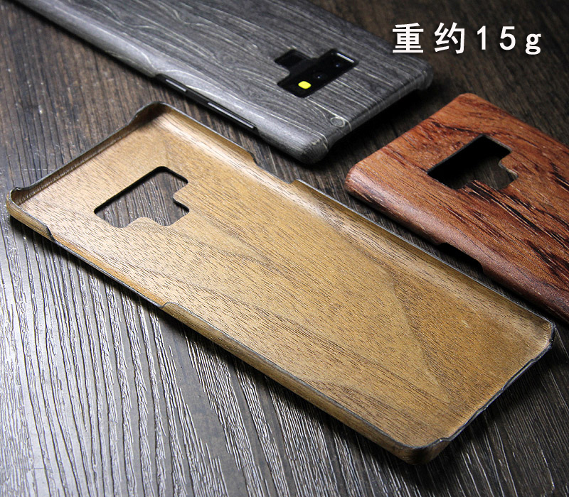 Image 3 - walnut Enony Wood Rosewood MAHOGANY Wooden Back Case Cover For Samsung Galaxy S8 S8+ Note 8 Note 9 Note 10+-in Fitted Cases from Cellphones & Telecommunications