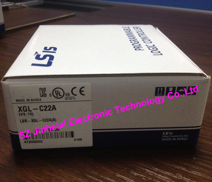 100% New and original  XGL-C22A  LS(LG)  PLC Communication module, RS-232C,2ch freeship original simatic s7 1200 plc communication module 6es7241 1ah32 0xb0 cm1241 rs232 6es7 241 1ah32 0xb0 6es72411ah320xb0