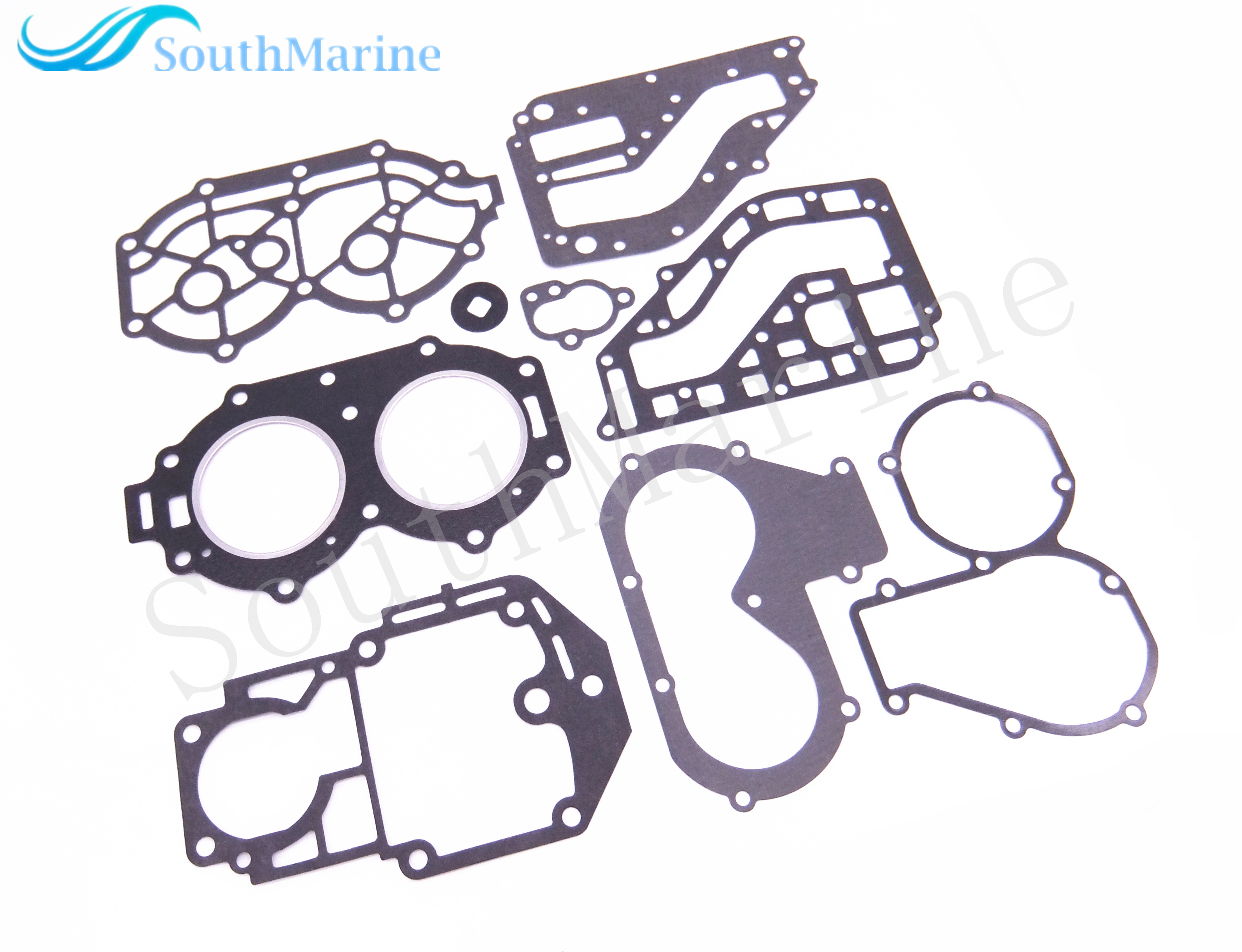 Boat Motor Complete Power Head Seal Gasket Kit for Yamaha 25HP 30HP Outboard Engine removable 3d stereo dolphin leaping out the sea design wall stickers