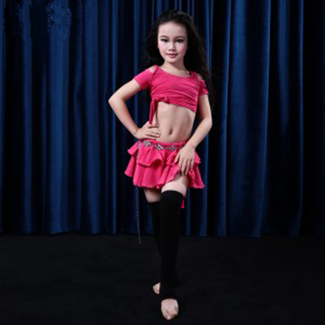 f3c860ed2 HOT hand made Child Belly Dance Costume Sets kids belly dancing ...