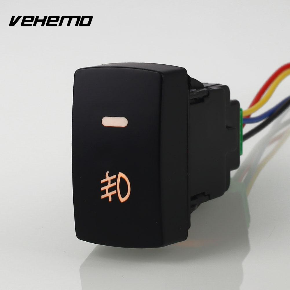 With Wiring Harness 12v Fog Lamp Push Button Switch Universal Light Old To New An Ideal Replacement For The And Broken Switchpackage Includes 1 X Car Foglight Honda Crv