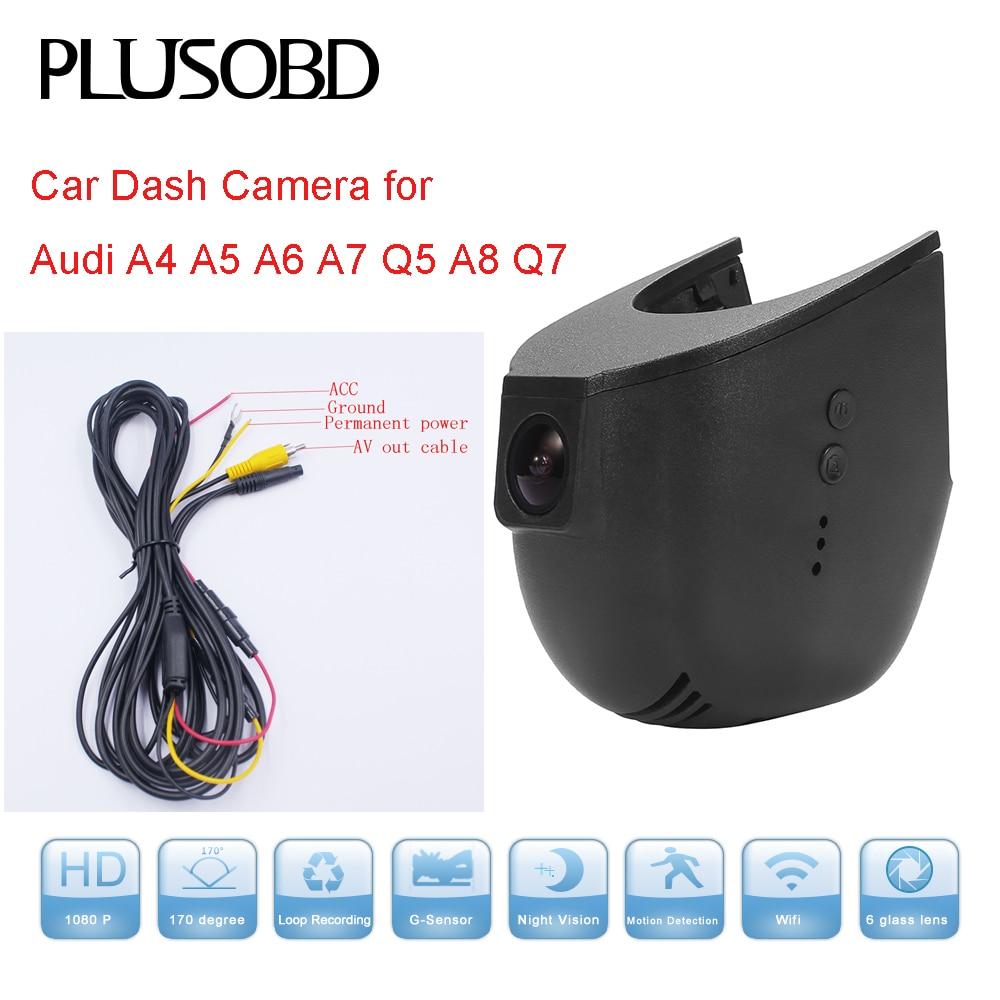 DVR video snimač za automobil Car Audi A5 A6 A7 Q5 (godina - Automobilska Elektronika