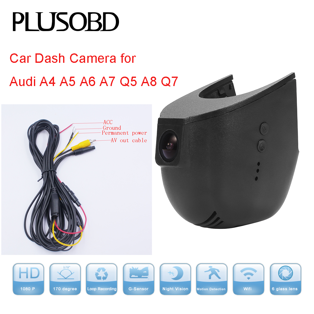 2018 Audi A5 Camshaft: Car Dash Cam DVR Video Recorder For Audi Car A4 A5 A6 A7