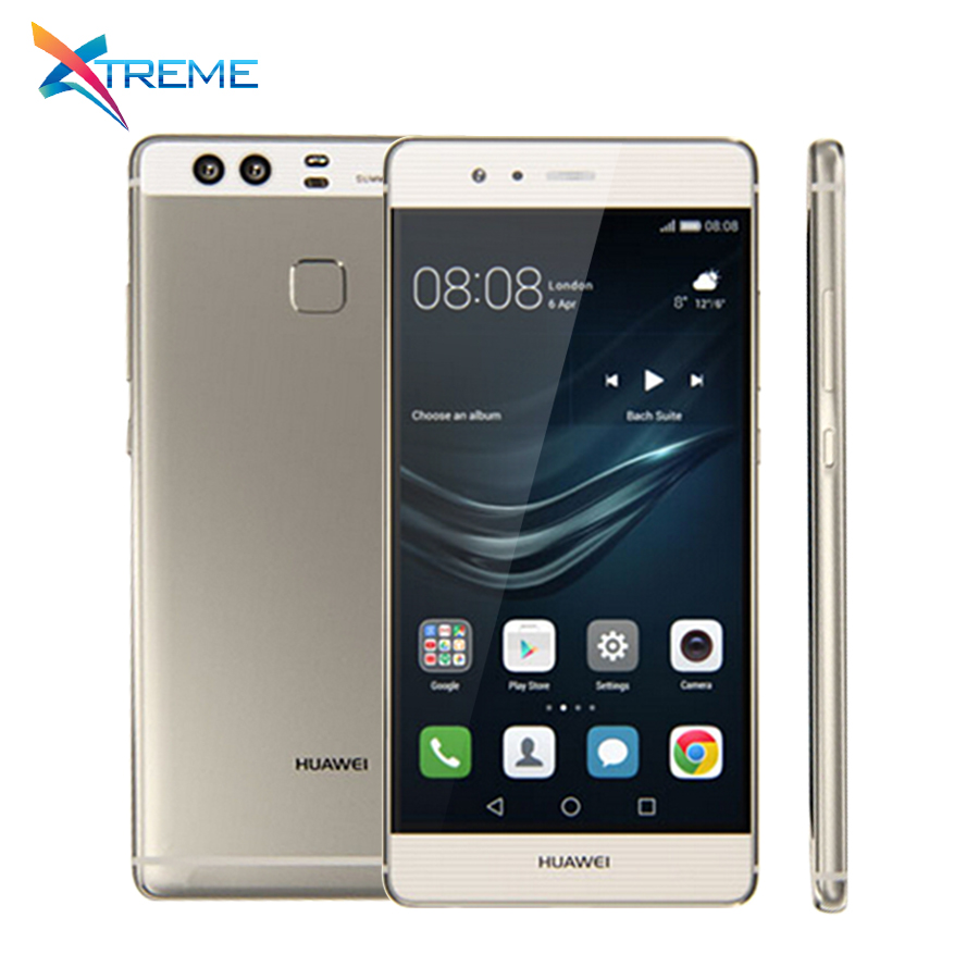 In Stock Original Huawei P9 4G LTE Mobile Phone Kirin 955 Octa Core Android 6.0 5.2