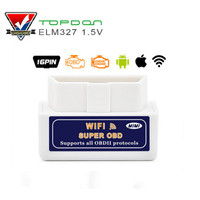 PIC18F25K80 OBD2 Scanner ELM327 WIFI Hardware V1.5 Supports Android/iOS/Windows ELM 327 Wi-Fi Diesel Cars