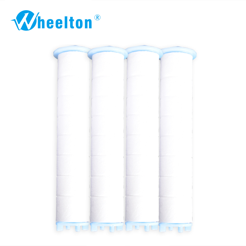4pcs / lot pp cotton filter cartridges for Wheelton H-201 spa bath showerhead water purifier with negative ion energy ball 2016 brand new high quality filter cartridges for water filter faucet lw 89 water purifier 2pcs lot free shipping