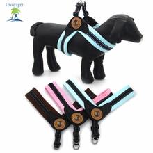 Soft Plush Pet Dog Collar Varm Harness Reflekterende Pet Hund Træningsvest S til L til Samll Large Dog